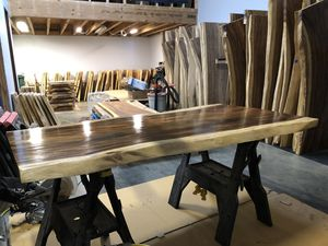 Acacia live edge custom Tables: Dining, Bar, Restaurant, Coffee & Conference. for Sale in Monroe, WA