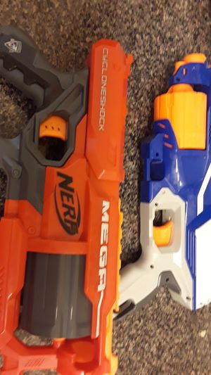 MegaNerfCycloneshock,DisruptorNerfGunElite for Sale in Washington, DC