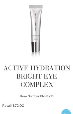 Rodan & Fields Active Hydration Bright Eye Comlex for Sale in Yorba Linda, CA