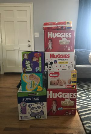 Diapers Size 1 for Sale in Whittier, CA