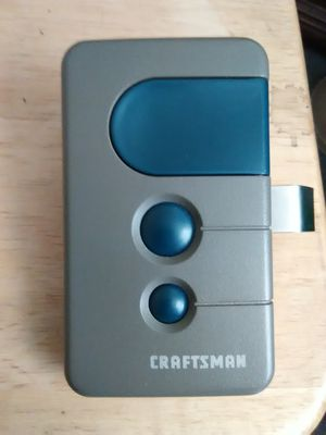 Craftsman garage door opener remote for Sale in St. Louis, MO