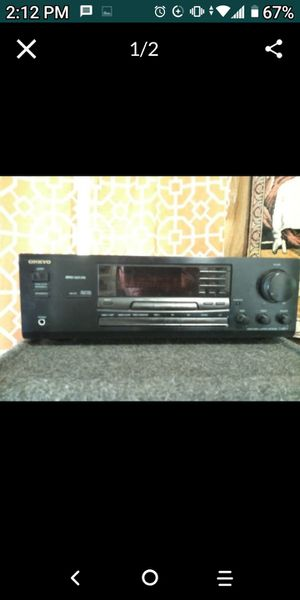 Home stereo system receiver and 218-in house kicker box speakers and 212-in kicker box house speakers for Sale in Worcester, MA