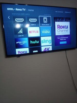 50 inch roku tv mount for Sale in Dallas, TX
