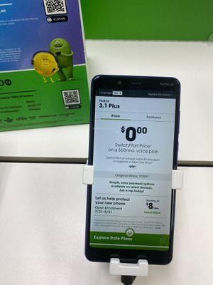 Nokia 3.1 Plus for Sale in Amarillo, TX