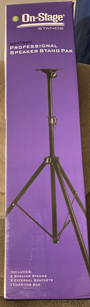 Professional speaker stand for Sale in Lima, OH