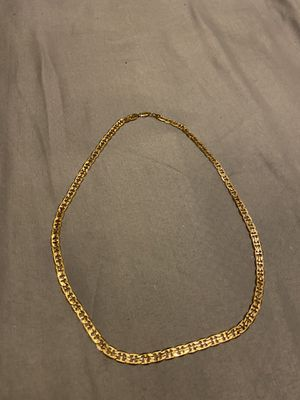 Gold plated chain for Sale in Muncie, IN