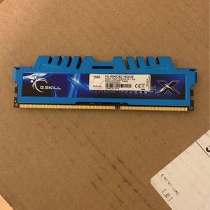 G.SKILL Ripjaws X Series 16GB (2 x 8GB) Ddr3 Desktop Memory for Sale in Chicago, IL