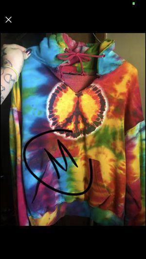 Hemp Happy Trails Tie Dye hoodie for Sale in Belington, WV