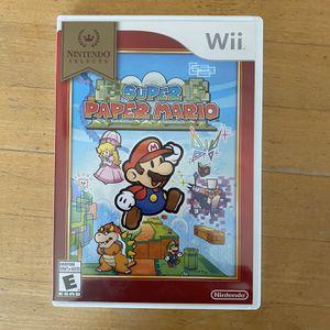 Super Paper Mario for Sale in Paso Robles, CA
