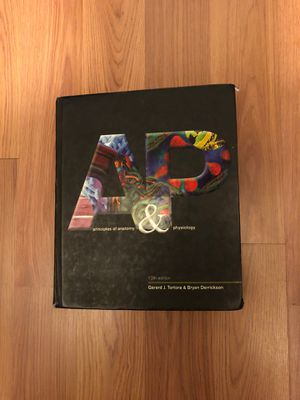 Principles of Anatomy And Physiology Textbook for Sale in Chula Vista, CA