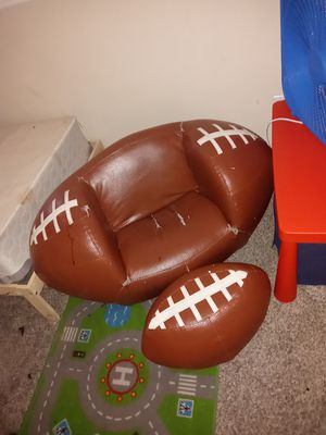 Kids Football chair and ottoman for Sale in Dallas, TX