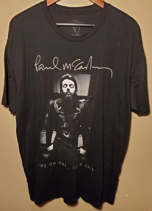 Paul McCartney One on One Tour 2016 Men's Size XL for Sale in Downey, CA