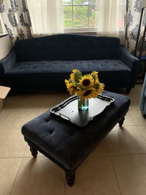 Futon / side chair / ottoman set for Sale in Plantation, FL