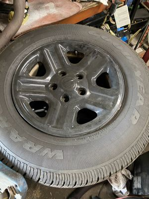 2007 and up Jeep rims and tires wrangler for Sale in Malden, MA