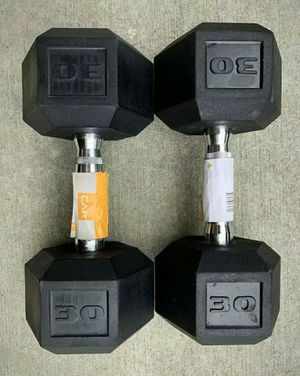 NEW 30lb Dumbbell Weights - Pair for Sale in Gilbert, AZ