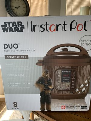 Instant pot 8 qt special edition star wars for Sale in El Paso, TX