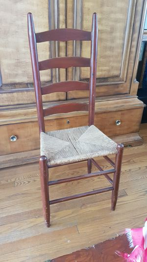 Antique ladderback chair for Sale in Chevy Chase, MD