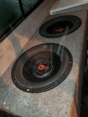 Quantum audio 12s for Sale in Fife Lake, MI