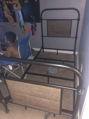 Twin bed frame from Ashley furniture only 1 year old for Sale in Columbia, TN