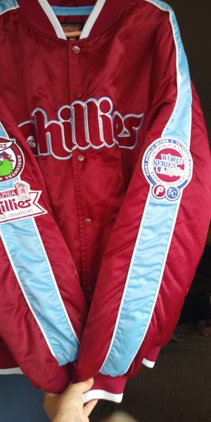 Cooperstown XL Phillies World series jacket for Sale in Huntington Beach, CA