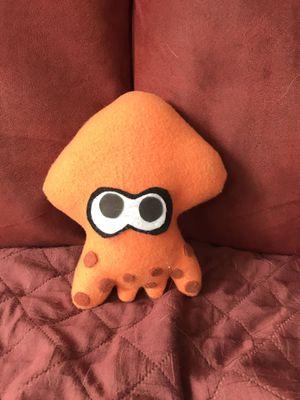 splatoon orange squid plushie for Sale in Elk Grove Village, IL