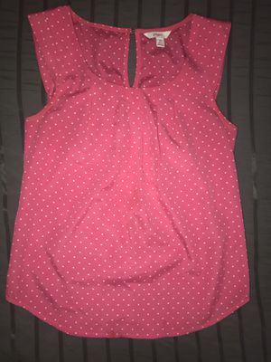 Hot Pink Candies Polka Dot Blouse for women / girls for Sale in Perris, CA