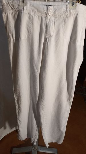 White Linen Pants for Sale in Helotes, TX