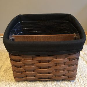 2006 Longaberger TV Time Basket for Sale in Puyallup, WA