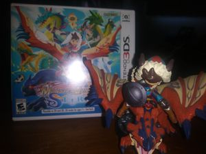 Monster hunter stories + amiibo + extras for Sale in Coral Springs, FL