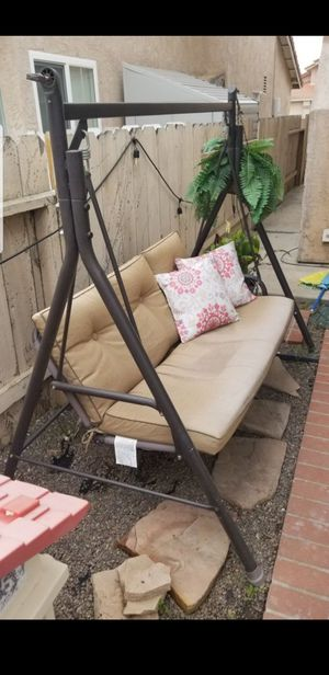 Outdoor Patio Swing couch chair for Sale in El Cajon, CA