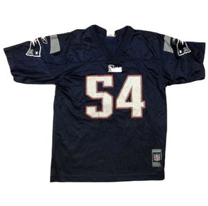New England Patriots Youth # 54 Teddy Bruschi Reebok Jersey NFL Size Large for Sale in Peabody, MA