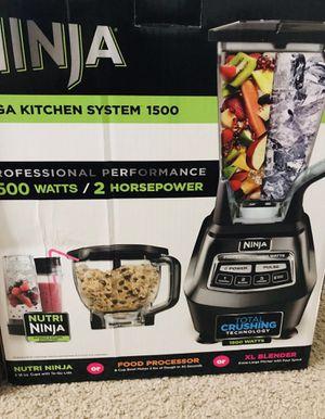 Ninja Food Processor and Blender BL 770 - 1500 watt for Sale in Novi, MI