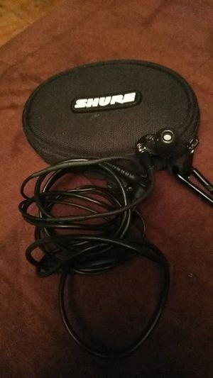 Shure 215 headphones for Sale in Manassas, VA