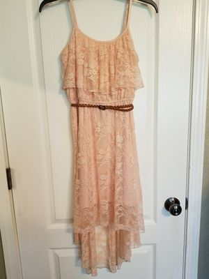 Blush Pink Lace High Low Summer Dress **READ Description** for Sale in Modesto, CA