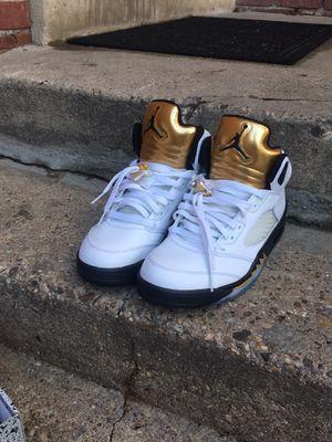 """Jordan retro 5 """"olympic"""" size 9.5 for Sale in Adelphi, MD"""