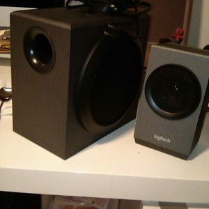 Logitech Subwoofer And Speakers for Sale in Queens, NY