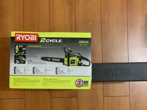 RYOBI 14 in. 37cc 2-Cycle Gas Chainsaw RY3714 for Sale in Garden Grove, CA