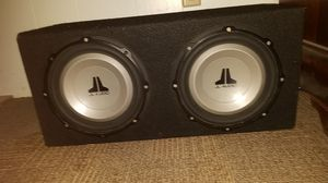 """SUBS (2) 10"""" JL AUDIO SUBWOOFERS WITH AMP INCLUDED for Sale in Solana Beach, CA"""