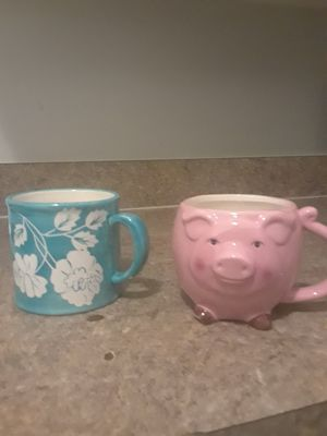 [2] LARGE CHINA COFFEE CUPS for Sale in PT CHARLOTTE, FL