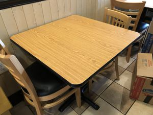 Restaurant Tables and Chairs for Sale in Marshall, VA