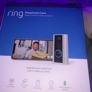 Ring Doorbell Peephole Cam for Sale in Portland, OR