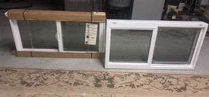 2 brand new basement windows by American craftsman (an Anderson co) 32x17 slider bathroom for Sale in Somerset, MA