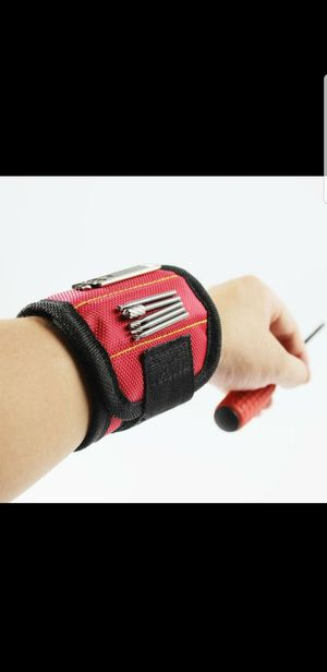 Red Magnetic Wristband for Nails and Screws for Sale in Las Vegas, NV