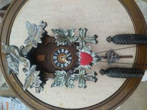 Cuckoo clock Works good bought it in Germany $40 for Sale in Costa Mesa, CA