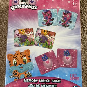Hatchimals Memory Match Game. New. 72 Pieces for Sale in Tinton Falls, NJ