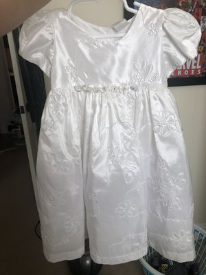 White Dress for Baptismal, Flower Girl etc for Sale in Las Vegas, NV
