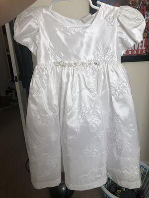 White Dress for Baptismal, Flower Girl etc for Sale in Las Vegas, NV