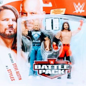New WWE / WWF Stonecold Steve Austin & AJ Styles Action Figures. for Sale in Apopka, FL