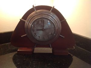 Old Nautical Electric Clock for Sale in Grosse Pointe Farms, MI