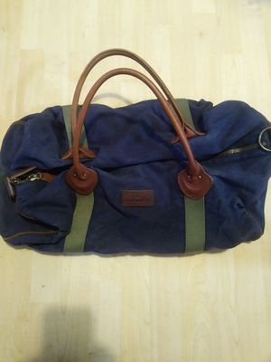 LL Bean Waxed Canvas Duffle bag weekender for Sale in Fort Lauderdale, FL